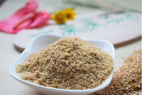 黃金亞麻子粉 (600g)